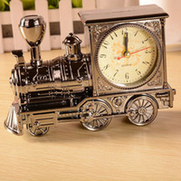 bathroom sourcing - Boutique sourcing YY7688 antique locomotive alarm clock student gift Vintage locomotive birthday gift Christmas gifts