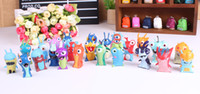 Wholesale Cheap Toys Anime Cartoon Mini Slugterra PVC Action Figures Toys Dolls Child Toys set hot toys figures