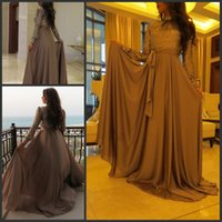 Wholesale 2015 Muslim Women Celebrity Evening Dresses Sequin Top Sequin Abaya In Dubai Arabic Kaftan Long Evening Gowns With Long Sleeves