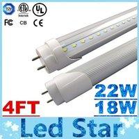 bright white leds - High Super Bright W W T8 FT m Led Tubes Light Leds SMD Warm Natrual Cold White AC V CE ROHS UL CSA SAA Warranty