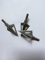 Wholesale 6pcs Archery G5 Broad Montec Grain Broadheads And G5 Broadheads For Compound Bow Hunting