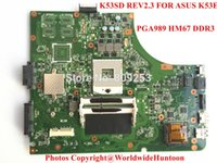 Wholesale Original K53SD REV2 mainboard FOR ASUS K53E motherboard Socket PGA989 DDR3 Intergrated Fully tested