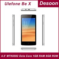 """Cheap In stock! Ulefone Be X Cell Phones 4.5"""" MTK6592 Octa Core 1GB RAM 8GB ROM Android 4.4 Phone GPS WCDMA 8MP Multilanguage Mary"""