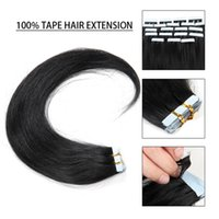 Wholesale On Sale Remy Tape Hair Extension Remy Human Hair inch inch Tape In Skin Human Hair Extensions Hair Weft No Tangle No Shed
