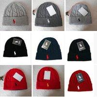 Prezzi Wool hat-Wholesale-tutti i colori Inclusive vendita calda Cappello invernale di lana a maglia Donne Skully Beanie Cappelli Mens Basketball Skullies e Berretti