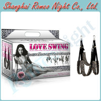 sex swing - Wild Leapord Stunning Responsive Love Swing Strap Position Aid Erotic Sex Furnitures Audlt Sex Toys Products