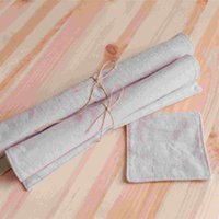 Wholesale Pastoral cloth mat linen cotton cloth mat antiskid insulation pad Western style food pad natural linen