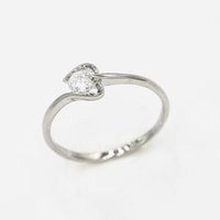 Wholesale Promotion New Top Quality Silver Rings for Women White Gold Plated Women Rings Hotsale Crystal Rings
