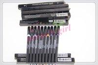 Wholesale 120pcs New Unique Precision Eyeliner Delicate Waterproof Makeup Eye Pencil Girls Party Favors Colors