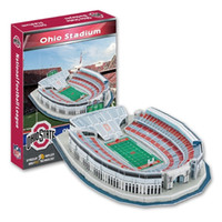 american football association - 3D Puzzle Stadium Model American football Association NCAA Ohio Stadium Paper Model Toys Decoration