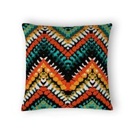 accent pillows - Bohemian style Pillows Chevron Decorative Throw Pillow Covers x Decorative Cushion Covers Sofa Cushion Accent Pillow