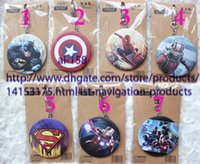 Wholesale New arrival Sell well designs cute cartoon The Avengers fashion portable pocket mirrors