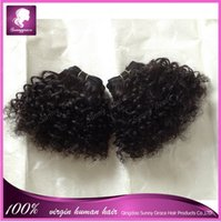 bebe natural hair - Human hair extension hair weave noble BEBE CURL inch black color best quality