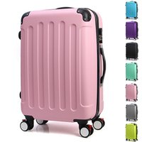 Wholesale Wholesales Man Women Trolley Travel Luggage Bags Spinner Wheels Boarding High Quality Travel Suitcases Rolling Luggage JO0018 Salebags