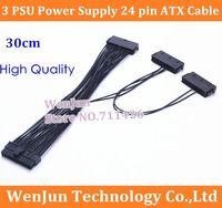 atx power supply connectors - 50PCS via HK Post Three PSU Power Supply pin ATX Motherboard Mainboard Adapter Connector Cable order lt no track