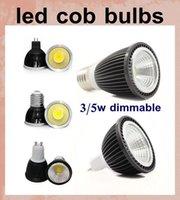Wholesale led spotlight cob led cob down light led flood light w w high power led light bulb cob led gu10 gu5 mr16 e14 e27 led cob pl lamp DB013