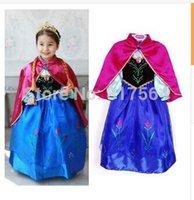 Cheap Girl Princess Dress Best Frozen Elsa dress