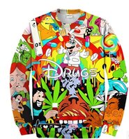 drugs - Green Mama Ddisney drugs Disney cartoon lovers sweater thin section