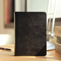 bible materials - Vintage thick notebook Bible diary Book Leather notepad Stationery Office Material School Supplies