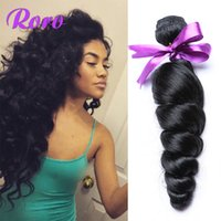 Wholesale 100 Virgin Brazilian Hair Natural Color loose curly Brazilian Hair Bundles Dyeable Hair Extensions Best Quality Human Hair A can dye