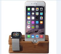 bamboo display stand - 2015 Apple Watch Stand Apple Watch Charging Platform iWatch Charging Stand Station for iphone plus stand Watch mm bamboo display