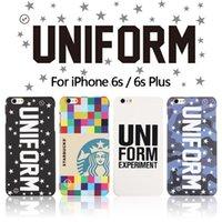 apple experiment - 2015 fashion uniform experiment UE STARBUCKS phone case for iphone plus plus hard pc back cover