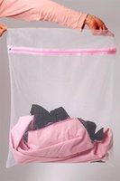 Wholesale 3pcs Universal Laundry bag Clothes Underware Bra Lingerie Washing Machine Zipper Mesh Bag