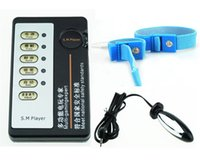 Wholesale Electrostimulation kit tune passion slave girl boy electro shock torture alternative toys male defibrillator electric sex shock