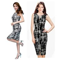 plus size clubwear - New Hot Women s Sexy Slim Bodycon Cocktail Pencil Dress Evening Vest Mini Dress Clubwear Plus Size Party Dress