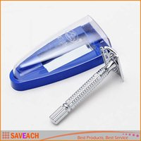 Wholesale Hot Sale Men Traditional double Edge blade razor shaver sharp veneer Hair Razor New Arrival