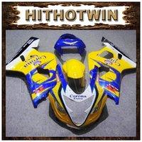 Precio de Suzuki gsxr750 fairing-GSXR750 2005 2004 Body Kit carenado para Suzuki GSXR600 2004 amarillo Corona Extra MOTUL Alstare GSXR750 05 AAA GSX R 600 750 04 05 K4