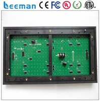 Wholesale Leeman P10 factory price waterproof high quality outdoor p10 red color led module x16