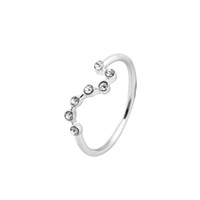big dipper - 1pc new arrival Gold and Silver Plated Big Dipper Women Rings Christmas gift JZ164