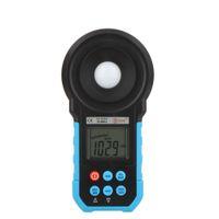 Wholesale BSIDE ELM02 Auto Range Digital LCD Lux FC Meter Light Illuminance Meter Lux Measuring Flowmeter illuminator