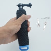 camera hand grip - Carbon fiber floating hand grip tripods for gopro here tripod professional for xiaomi yi action camera sj4000 wifi Accessories