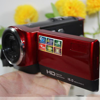 Wholesale New Handhold DV camcorder digital video camera Max MP quot inch TFT LCD X Zoom MP with LED Flash Light Camcorder Mini DV Gift