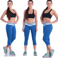 lifting points - New fashion cotton spell color V shaped lift the lift the hip s sexy ultra elastic seven points Leggings