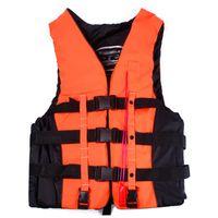 Wholesale Adult Swimming Polyester Foam Life Jacket Vest Whistle Foam Prevention Flood