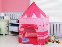 Cheap Large Pink Princess Tent Cute Child Game House Beautiful Play Tent Pretty Indoor And Outdoor Play Tent