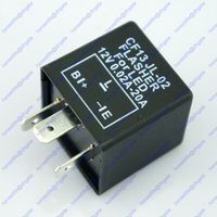 Wholesale 3 Pin Car Turn Signal Indicator Flasher Relay Fix LED Hyper Flash CF13 JL02 EP34