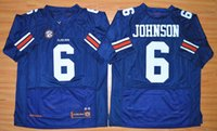 auburn tigers sports - Auburn Tigers Jeremy Johnson Navy Blue Men Sport Jerseys American College Mens Football Jersey Size S XXL