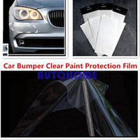 auto paint protection film - 5 X New Car Auto Clear Paint Protection Film Back Bumper cm cm Car Sticker order lt no track