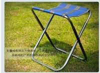 bench cloth - Aluminum Alloy Foldaway Chairs Portable Outdoor Casual Bench Fishing Beach Chairs With Oxford cloth bag