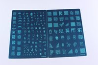 ad templates - NEW YH Series XL Medium Size Stamp Stamping Image Kon ad Plate Print Nail Art Large BIG Template DIY