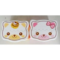 Wholesale Cute Cartoon Cat Easy Foldable Children Step Very Firm Stool Pink US Fast Shipping order lt no track