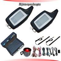 Promotion PKE deux alarme de voiture de manière de RFID,système d'alarme,fréquence FM,le démarrage à distance,la température de départ,la minuterie de démarrage,sauts de code