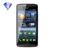 acer packages - Hot Clear Diamond Protective Film Guard Screen Protectors For Acer Liquid E700 With Retail Package