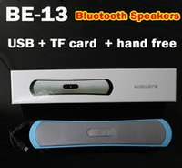 Wholesale BE B13 Outdoor Portable Bluetooth Speakers Super Bess HIFI mini speakers Support USB TF card hand free with retail package high quality s