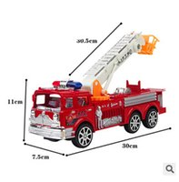 toy fire truck - new baby toy engineering car fire truck toy model toy car model toys for children scale toyskids TOP871