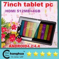 Wholesale new inch TABLET PC Q88 HDMI ATM7021 Dual Core Android Dual Camera MB GB WiFI External G